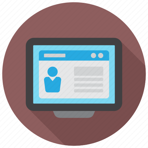 application, curriculum, cv, job, profile, resume icon