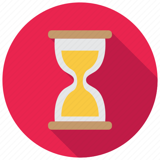 clock, sand, time icon