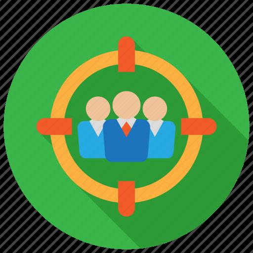 group, recruit, recruitment, target, team icon