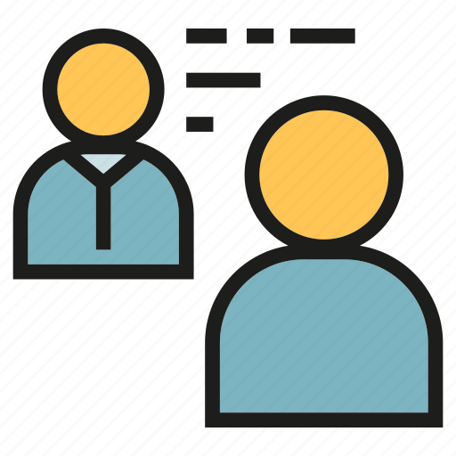 Business meeting, job interview, office, people, worker icon - Download on Iconfinder