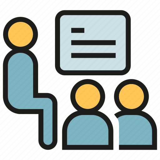 Lecture, office, people, presentation, training, worker icon - Download on Iconfinder