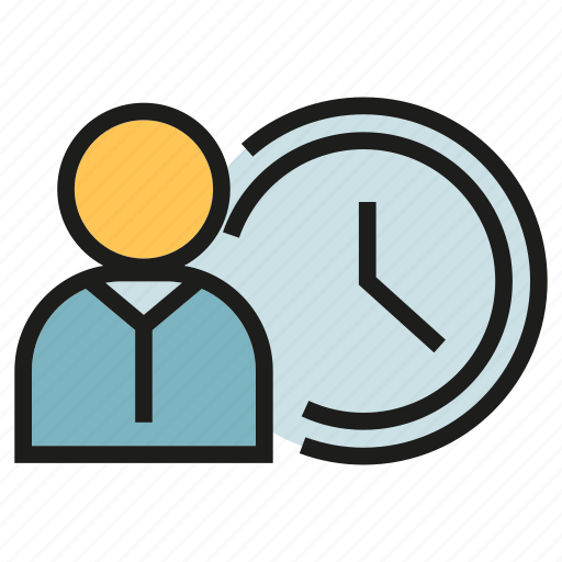 clock, management, people, time icon