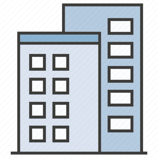 building, office, tower icon