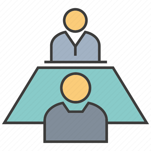 cinference, consult, interview, job interview, meeting, talk icon