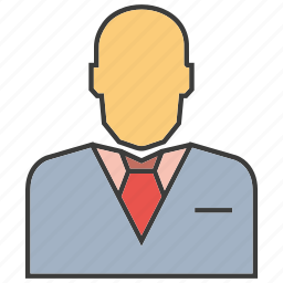 business, business man, employee, office, people, worker icon