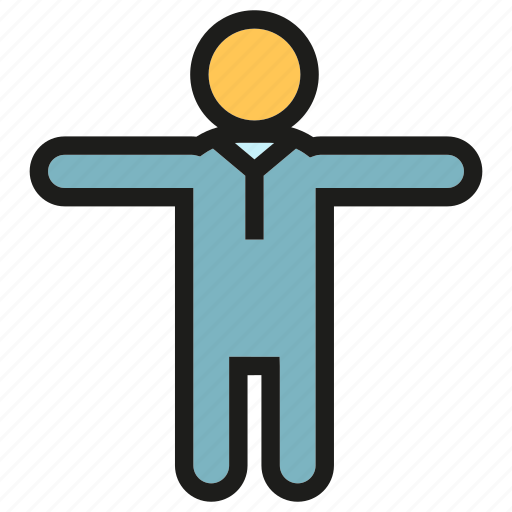 man, people, relax icon