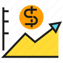 chart, data, finance, graph, money, stats icon