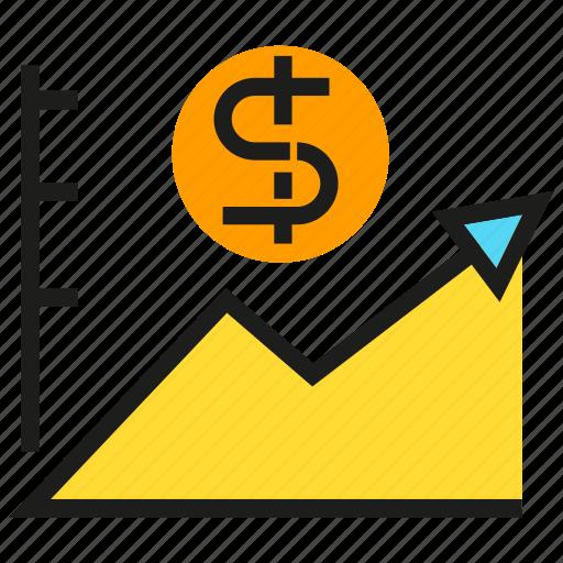chart, data, finance, graph, money, stats icon