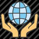 global, globe, hand, hold, world, world wide