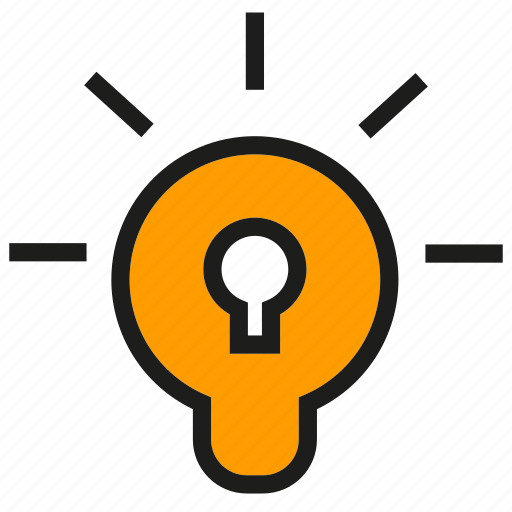 Bulb, confidential, creative, idea, light, secret, think icon - Download on Iconfinder