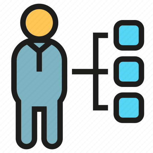 Diagram, organization chart, people icon - Download on Iconfinder
