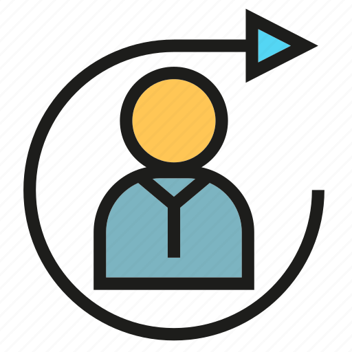 Arrow, management, people, rotate icon - Download on Iconfinder