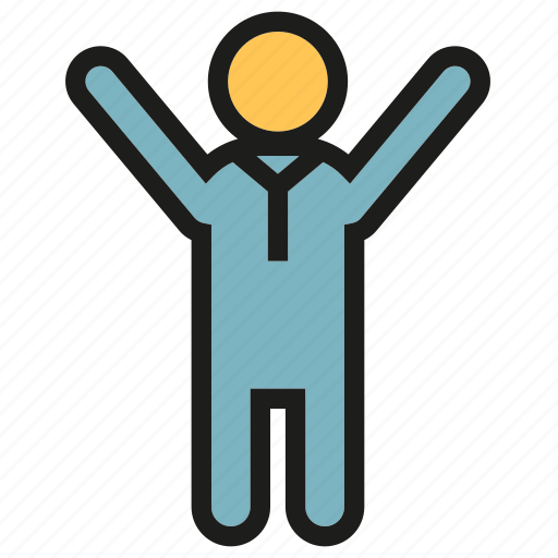 achievement, people, relax, success icon