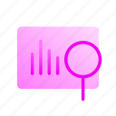 analysis, business, creativity, graph, information, marketing, research icon