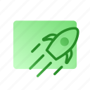 brand, business, business launch, creativity, marketing, rocket icon