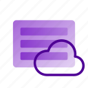 business, cloud, creativity, data, marketing, storage icon