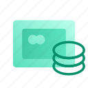 account, balance, business, card, credit, marketing, money icon