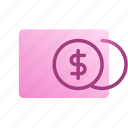account, balance, coins, dollar, money, payment, payment method icon