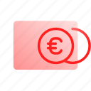 account, balance, coins, euro, money, payment, payment method icon
