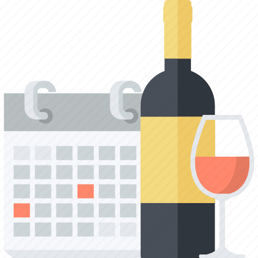 calendar, celebration, events, flat design, holiday, information, schedule icon