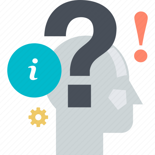 answer, faq, flat design, help, information, question, support icon