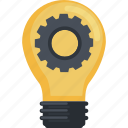 business, development, flat design, idea, innovation icon