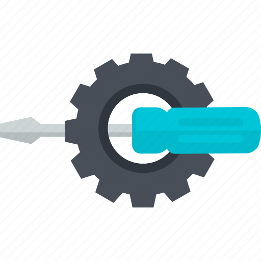 flat design, maintenance, setting, support, technical, technology icon