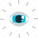 business, control, eye, vision icon