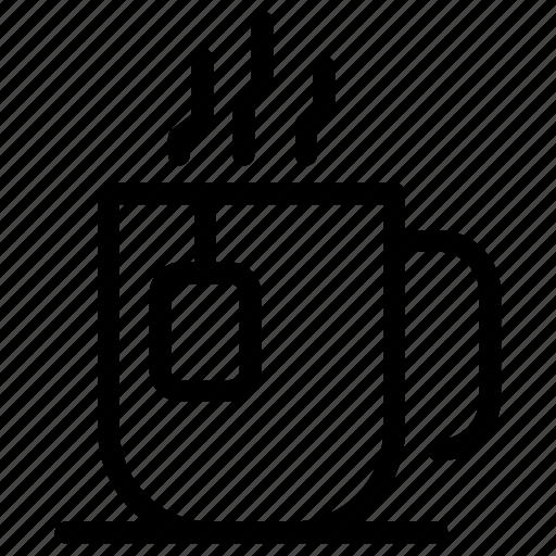 beverage, coffee, drink, hot, mug, relax, tea icon