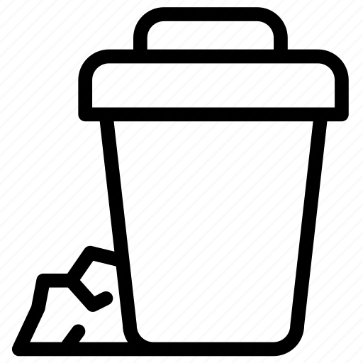 can, cancel, dustbin, garbage, recycle, repair, trash icon