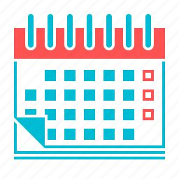 calendar, date, day, event, month, plan, timetable icon