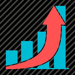 bar, chart, diagram, graph, growth, statistics icon