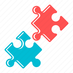 game, partners, puzzle, solution icon