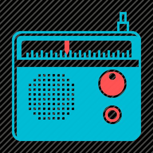 advertising, audio marketing, marketing, news, radio icon
