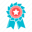 achievement, award, badge, best, medal, rank, winner icon