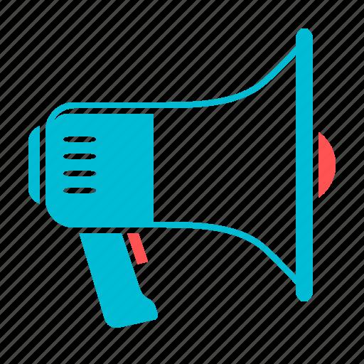 bullhorn, megaphone, promotion, speaker, viral marketing, volume icon