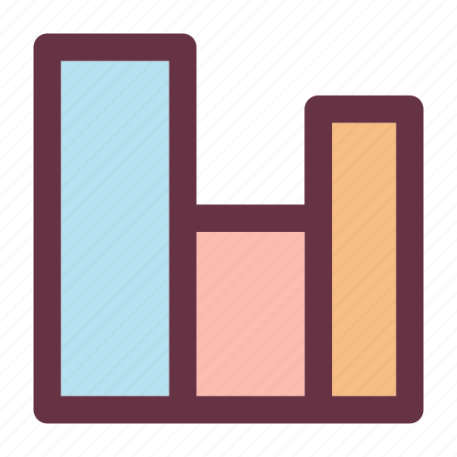 business, chart, graph, management icon