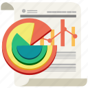 analytics, business, chart, data, marketing, processing, statistics icon