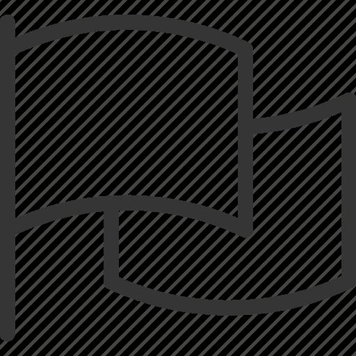 deadline, flag, leadership, start, target icon