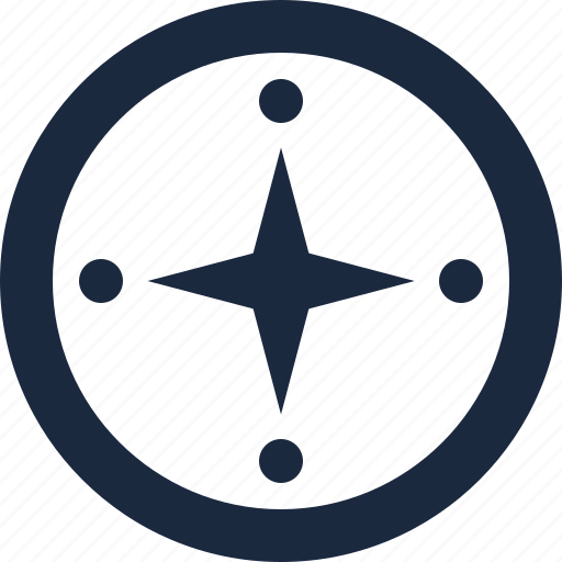 compass, guide, navigator, success icon