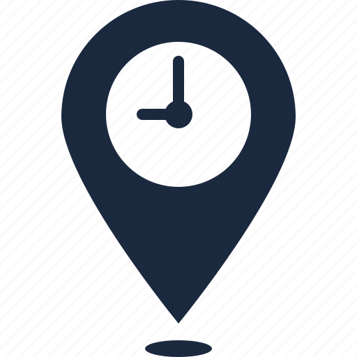 business, location, success, time icon