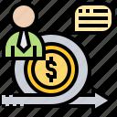 efficiency, improvement, management, operation, performance icon