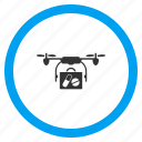 copter, drone delivery, health care, medical, medicine, pharmacy, transportation icon