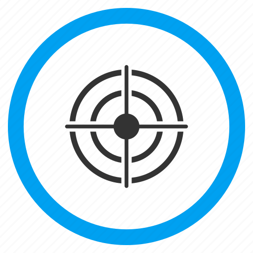aim, bullseye, center, goal, point, target, targeting arrow icon