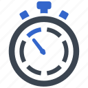 deadline, efficiency, performance, speed, stopwatch icon