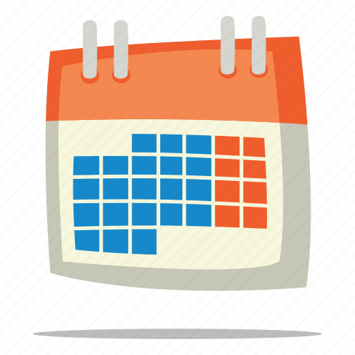 calendar, date, deadline icon