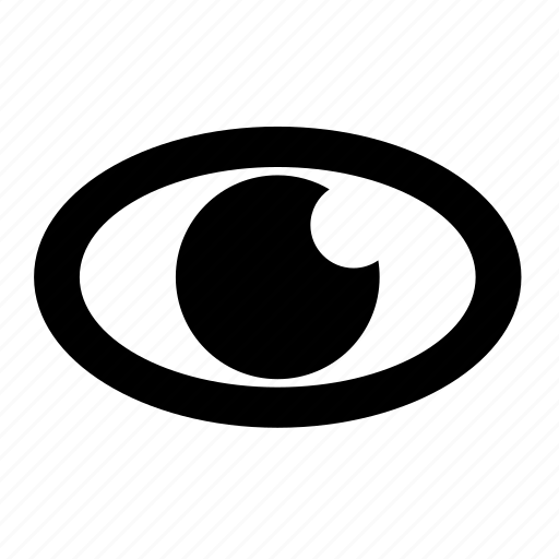 business, eye, mission, office, vission icon