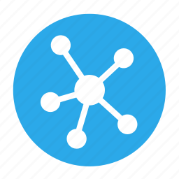 affiliate, business, circle, network, office, partner icon
