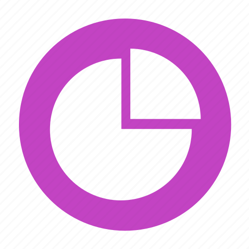 business, circle, graph, income, office, pie, sales icon