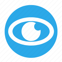 business, circle, eye, mission, office, vission icon